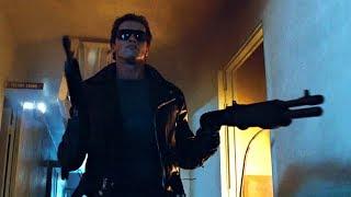 I'll be back (Police station assault)   The Terminator [Open Matte, Remastered]