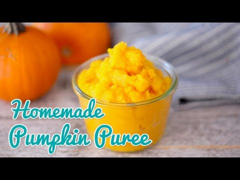 How to Make Homemade Pumpkin Puree - Gemma's Bold Baking Basics Ep 24