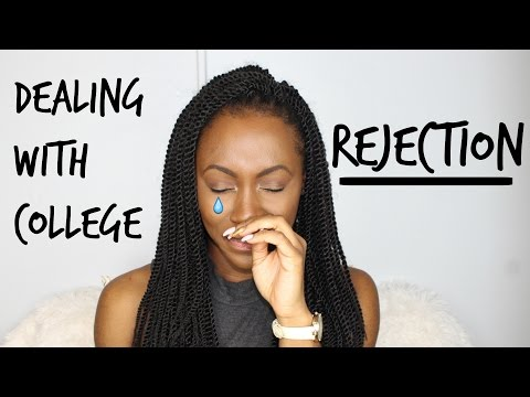 STORYTIME: DEALING WITH COLLEGE REJECTION (Tips & Advice)| EssenceofMae