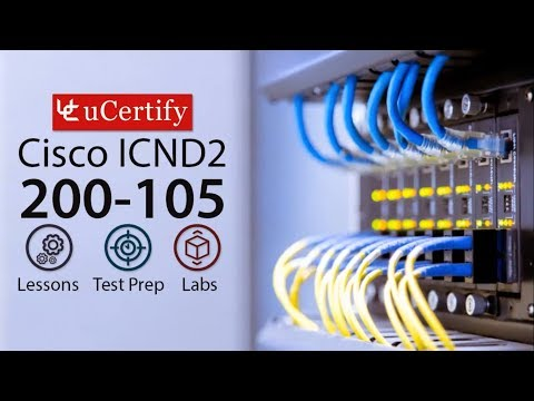 CCNA ICND2 200-105 Pearson uCertify Course and Labs