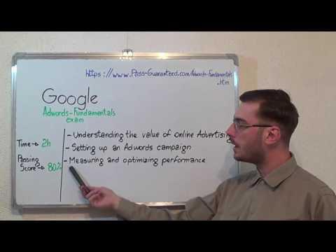 Adwords-Fundamentals – Google Exam AdWords Fundamentals Test Certification Questions
