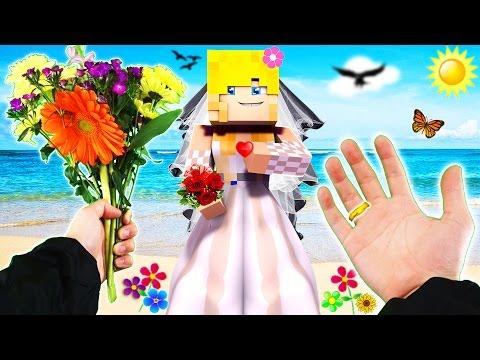 Realistic Minecraft - MARRYING MY HIGHSCHOOL GIRLFRIEND ❤️️