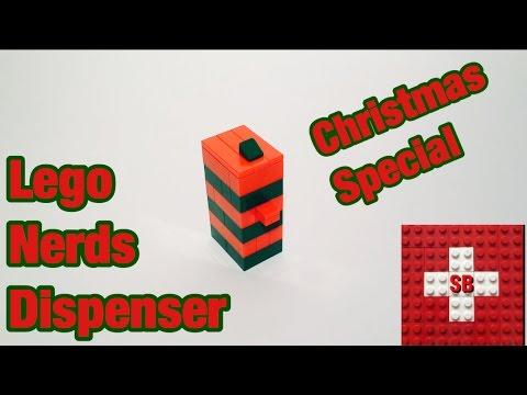 Lego Micro Nerds Dispenser *Christmas*