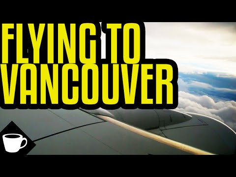 VLOG | FLYING TO VANCOUVER
