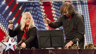Unforgettable Audition: Gay and Alan ring our bells with Titanic tune!   Britain's Got Talent