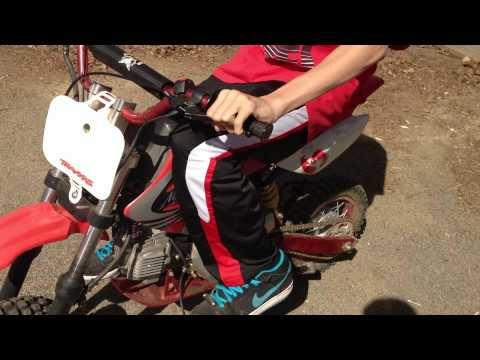 How to ride a dirtbike with a clutch