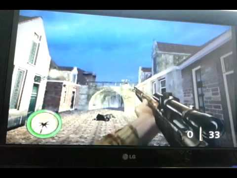 Gamecube Medal Of Honor Frontline gameplay