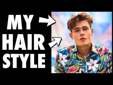HOW TO GET A MALE MODEL HAIRCUT!