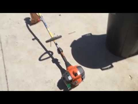 How To Fix A Grass Trimmer That Bogs Down And Won't Rev-up