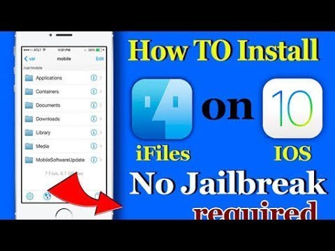 How to get IFile in IOS No Cydia required!