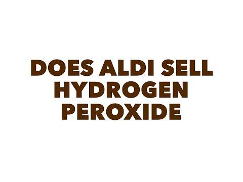 Does aldi sell hydrogen peroxide