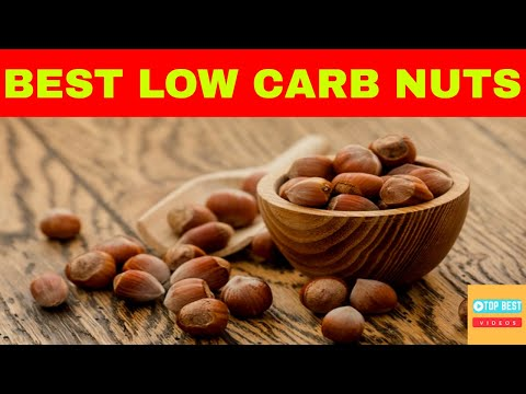 Top 10 Low Carb Nuts on Keto and Paleo diet