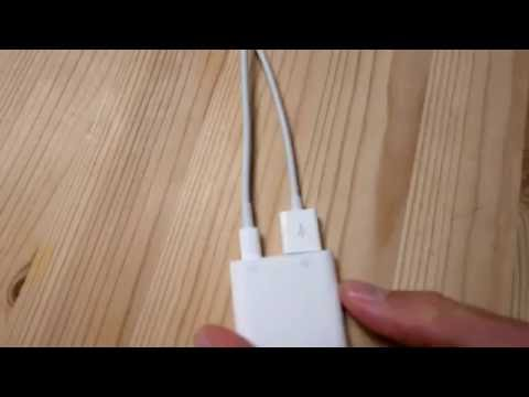 Internet on iPad or iPhone using ethernet cable - now with power - no wifi or mobile data!