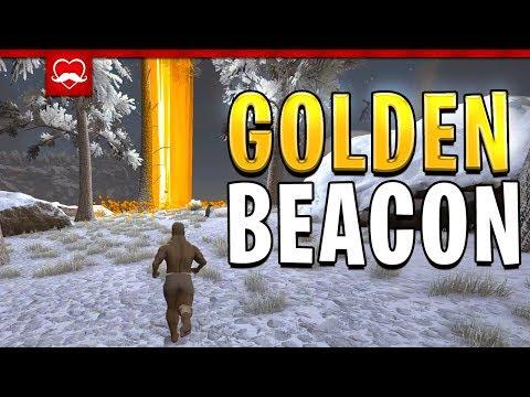 INSANE GOLDEN BEACON DROP! | Ark Meme Evolved | E1