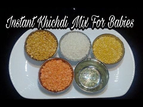 Instant Khichdi Mix for Babies || Travel food for Babies || Indian Twin Mom