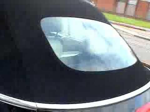 VW Beetle Cabriolet Porsche Style