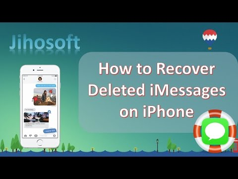 iMessage Recovery - How to Recover Deleted iMessages on iPhone