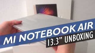 Xiaomi Mi Notebook Air 13 Unboxing Core i5, Nvidia 940MX Version (English)