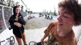 Stevie Churchill @ The Barcelona Dub BMX Jam