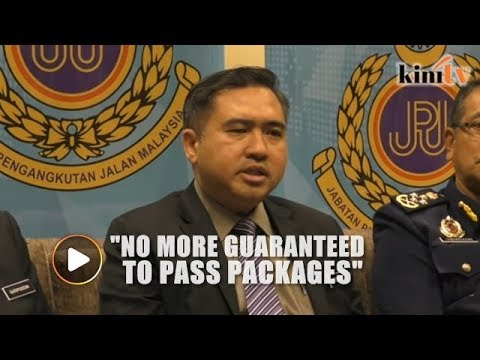 Transport Minister announces three measures to put a stop to 'Lesen Kopi O'