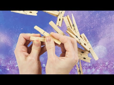 3 decoration ideas for Christmas using clothespins