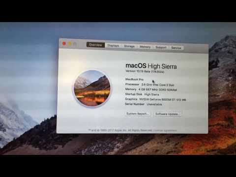 How to Install macOS High Sierra on an Unsupported Mac