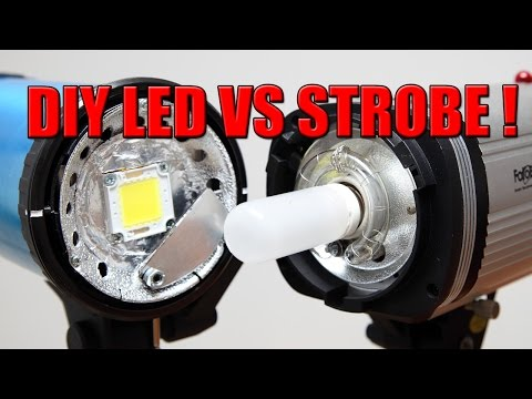 Photography using continuous lights (LED) vs Studio Strobes - Pro's and Cons