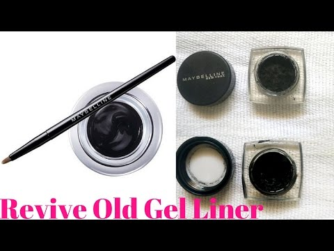 How to fix a dried Gel liner in 1 min/ Revive Gel liner in 1 min / #Gel Eyeliner
