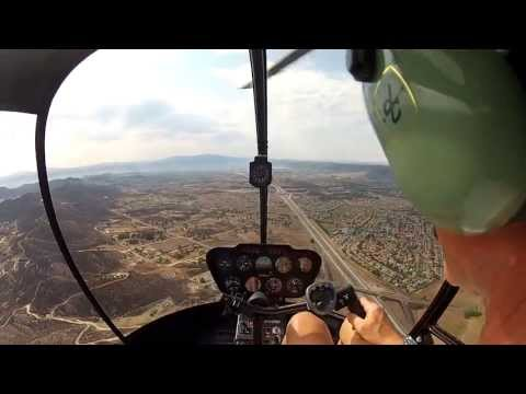 Flight 40, Helicopter Training, Part II, SOLO CROSS COUNTRY, AJO to F70 to TOA