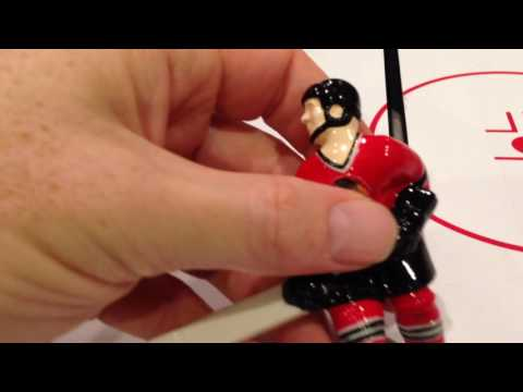 Removing and Installing a new Chexx Bubble Hockey player