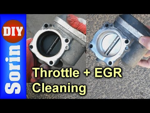 Throttle Body + EGR Cleaning - Seat Leon 1m / Golf 4 / Toledo 2 / Bora (code AZD & BCB)