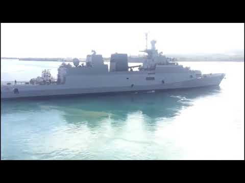 Indian Navy Flotilla Departs Guam Harbour For The Sea Phase Of Malabar 2018
