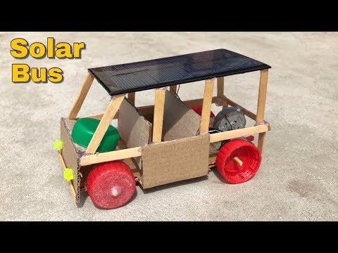How to Make a Car - Solar Powered Bus