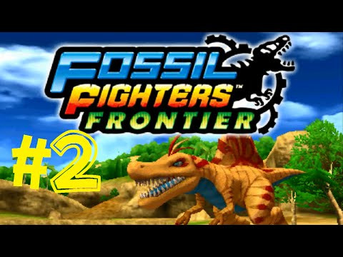 Fossil Fighters: Frontier Nintendo 3DS Bone Buggy, Revival, Rogue! Walkthrough Part 2 English!