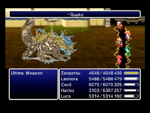 FFIV The After Years - Final Tale: Planet Eater - FFVI's Ancient Weapon of Destruction Ultima Weapon