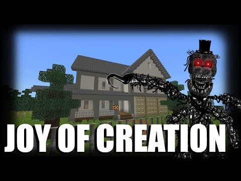 Joy of Creation in Minecraft (FNAF Fan Made Game)