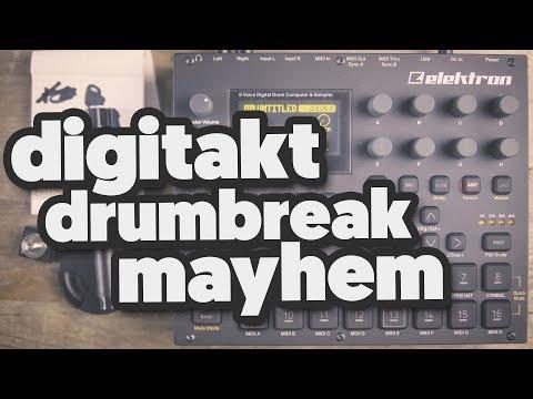 DIGITAKT: Drumbreak Mayhem! [ a-beat-a-day ]
