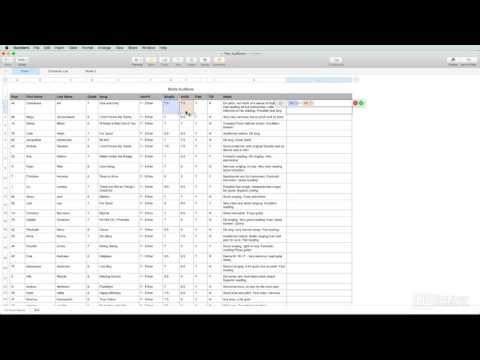 Numbers 101: Learn Numbers - 2. Spreadsheet Basics