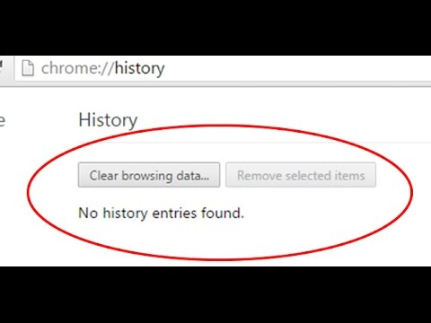 How to view deleted browsing bookmarks and History on google chrome and mozilla fire fox