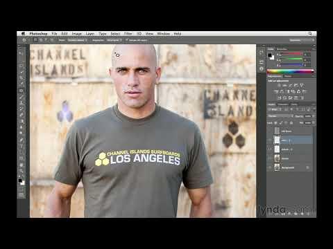 Photoshop tutorial: Removing the logo | lynda.com