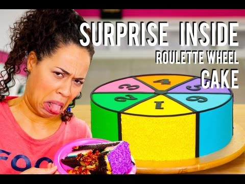How To Make a SURPRISE INSIDE ROULETTE WHEEL! Filled With YUMMY & NASTY Secret Ingredients!