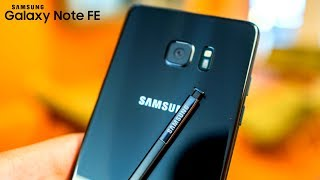 Galaxy Note FE (7R) - Good News and Bad News!