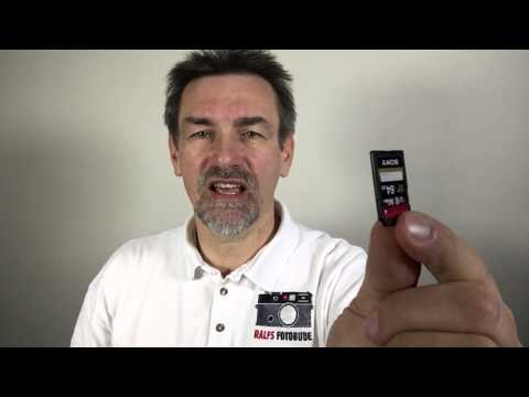 Sony Alpha Series – SD Card for XAVC S Video (English)