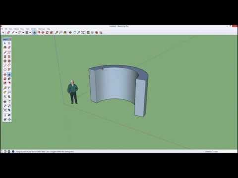 Sketchup Tutorial Part1 : Modeling for 3D Printing