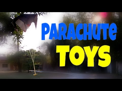 How to Turn Anything into a Parachute Toy. (diy parachute toy)
