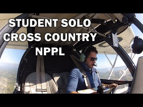 Solo Student Cross Country National private pilots license, Ikarus C42
