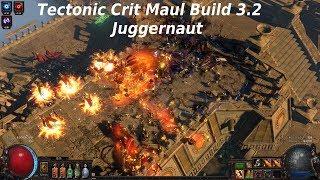 Tectonic Slam Chieftain or Juggernaut League Starter Build Guide