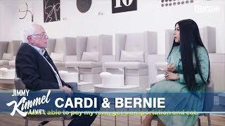 Cardi B & Bernie Sanders Talk Politics