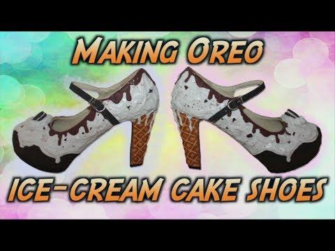 How to make Ice cream Oreo Shoes