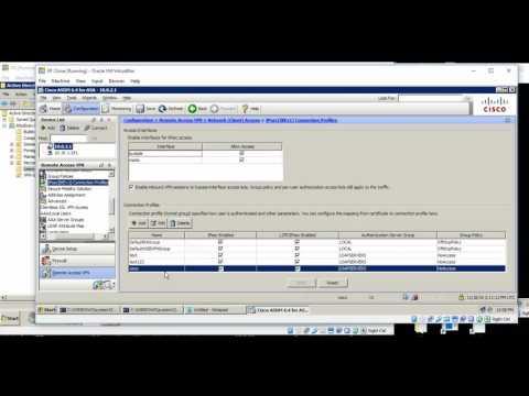 Cisco ASA VPN - Authorize user based on LDAP group + ASA LDAP map
